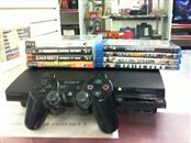 SONY PlayStation 3 160GB - CECH-2501A with 4 games and 4 blurays